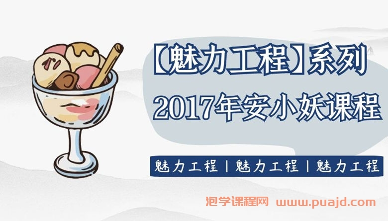 【魅力工程】2017年安小妖