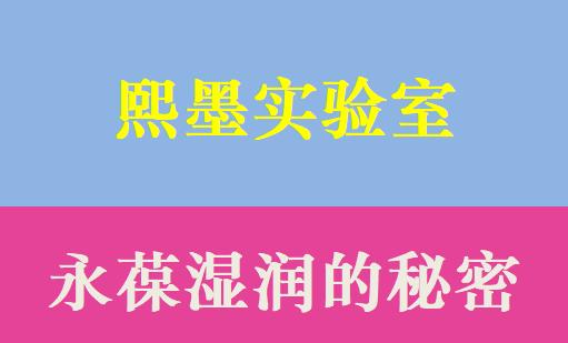 李熙墨-永葆湿润的秘密