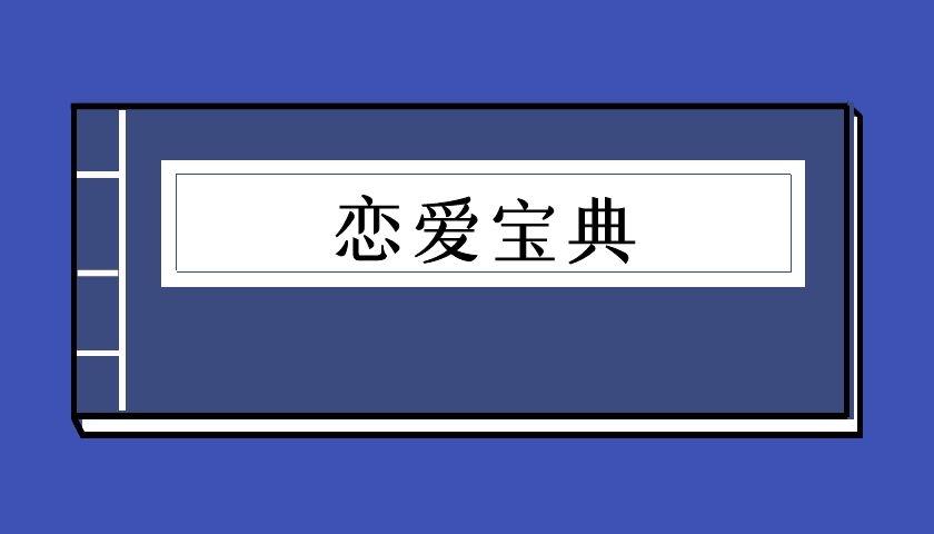 陈昌文《恋爱宝典》(泡学电子书)